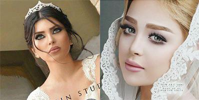 انواع مدل های موی عروس جدید