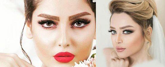 جدید ترین و زیباترین مدل آرایش عروس
