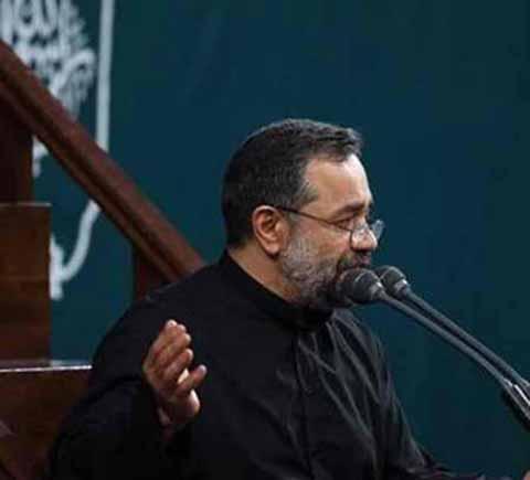 دانلود مداحی محمود کریمی به نام کی گفته من بابا ندارم