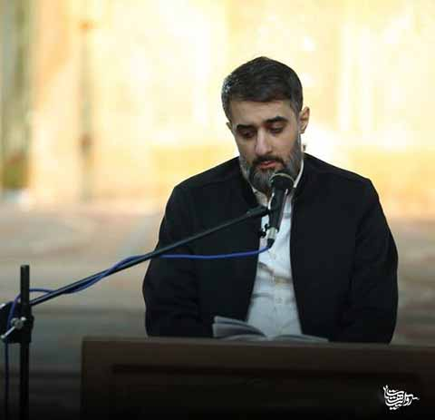 دانلود مداحی محمد حسین پویانفر به نام من حرم لازمم دلم تنگ است